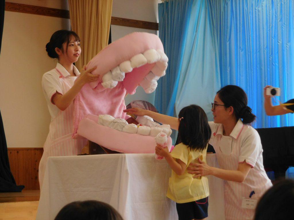歯磨き指導★年中