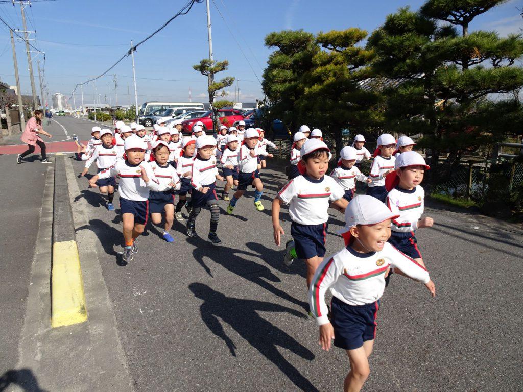 マラソン大会(年少・年長)